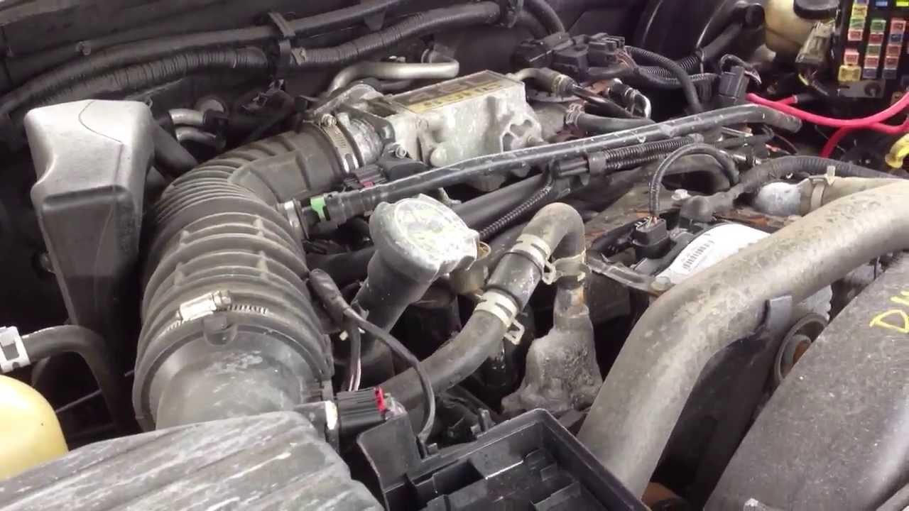 D4ME215 2004 Mercury Mountaineer 4.6L Engine Test - YouTube
