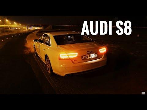 AUDI S8 4.0 TFSI V8 Led Lights Test wyciszenia ledy Nocna [Jazda Próbna] Testowa PL