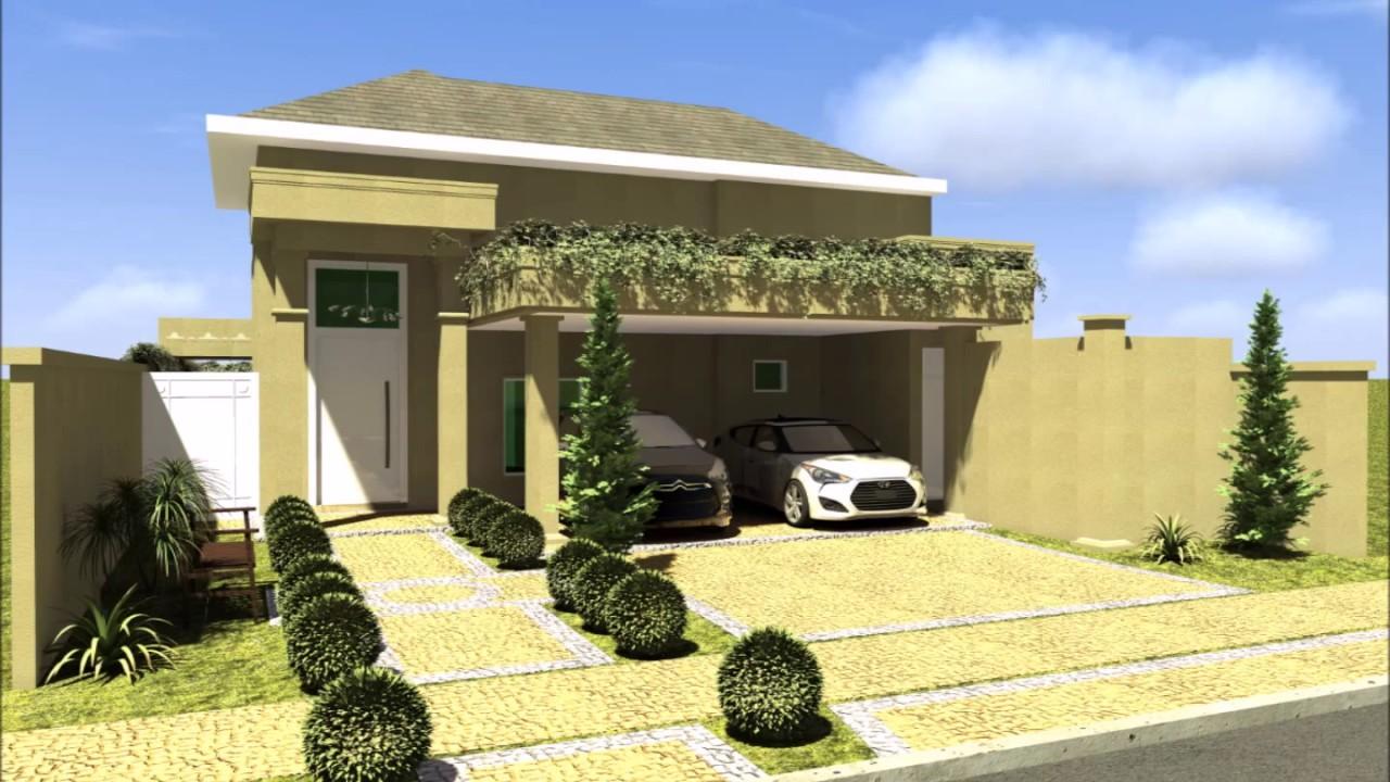 planta construir casa terrea 160 metros terreno 12x25