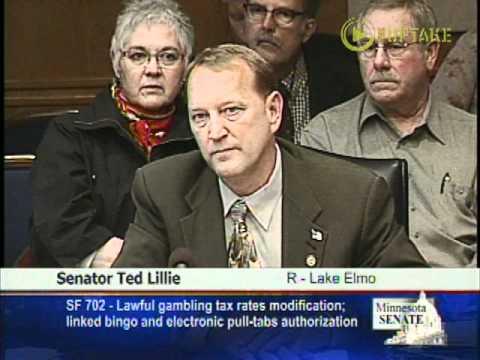 Lillie-Lawful Gambling Bill Actually A Jobs Bill