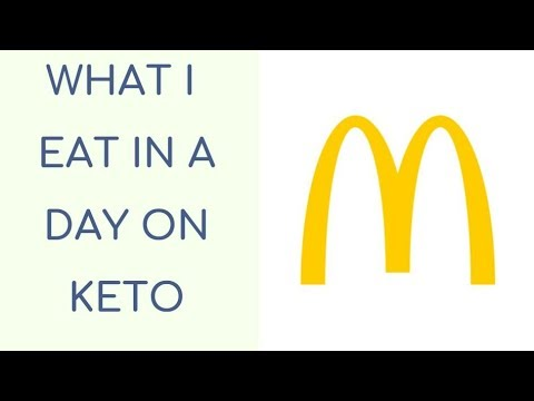 What I eat in a day on keto   105lb weight loss   Eating fast food