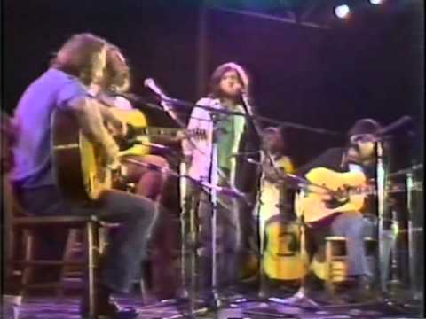Crosby, Stills, Nash and Young - Change Partners at Wembley Stadium - September 14, 1974