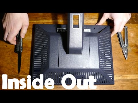 Whats Inside a Computer Monitor ? - Inside Out