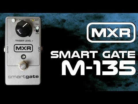 MXR M135 Smart Gate Pedal Demo