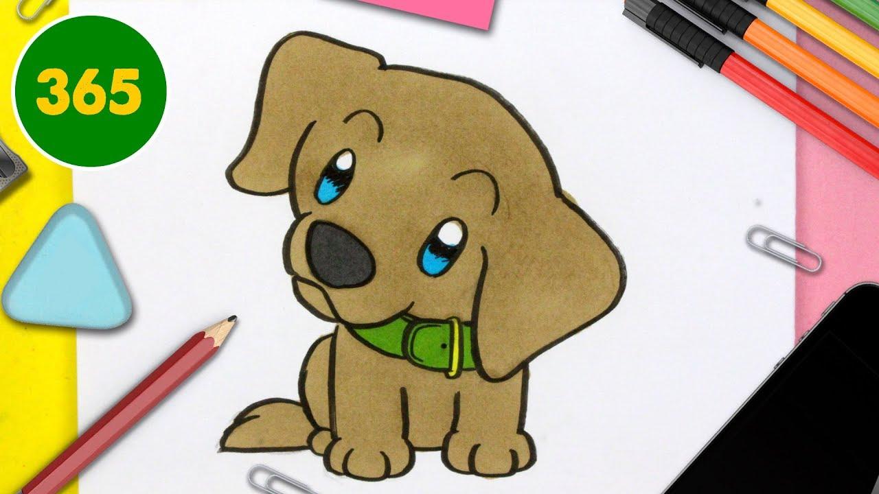 Comment Dessiner Un Chien Labrador Kawaii Comment Dessiner Un Chiot Très Kawaii