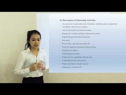 Cambodian presentation live video in english home work work group University