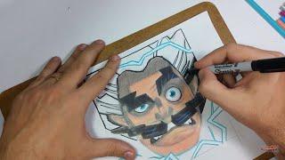 🎬 LIVE: Como desenhar o Mago Elétrico do Clash Royale! how to draw Clash Royale!