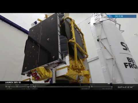 World's First Reflight of an Orbital Class Rocket | SES-10 Hosted Webcast