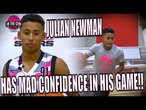 Julian Newman TALKS ABOUT HIM AND KYREE WALKER GOING HEAD TO HEAD AT MSHTV CAMP
