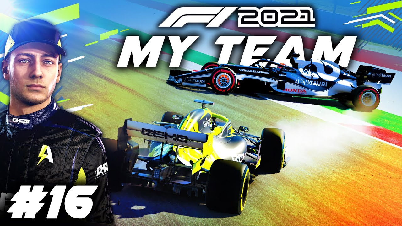STRANGEST THING I'VE SEEN ON THIS GAME SO FAR! - F1 2021 MY TEAM CAREER Part 16