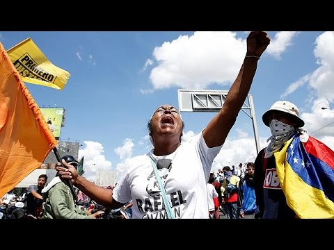 Venezuela opposition stages huge anti-Maduro rally in Caracas