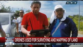 Pinoy heads startup that uses drones for land surveying, mapping