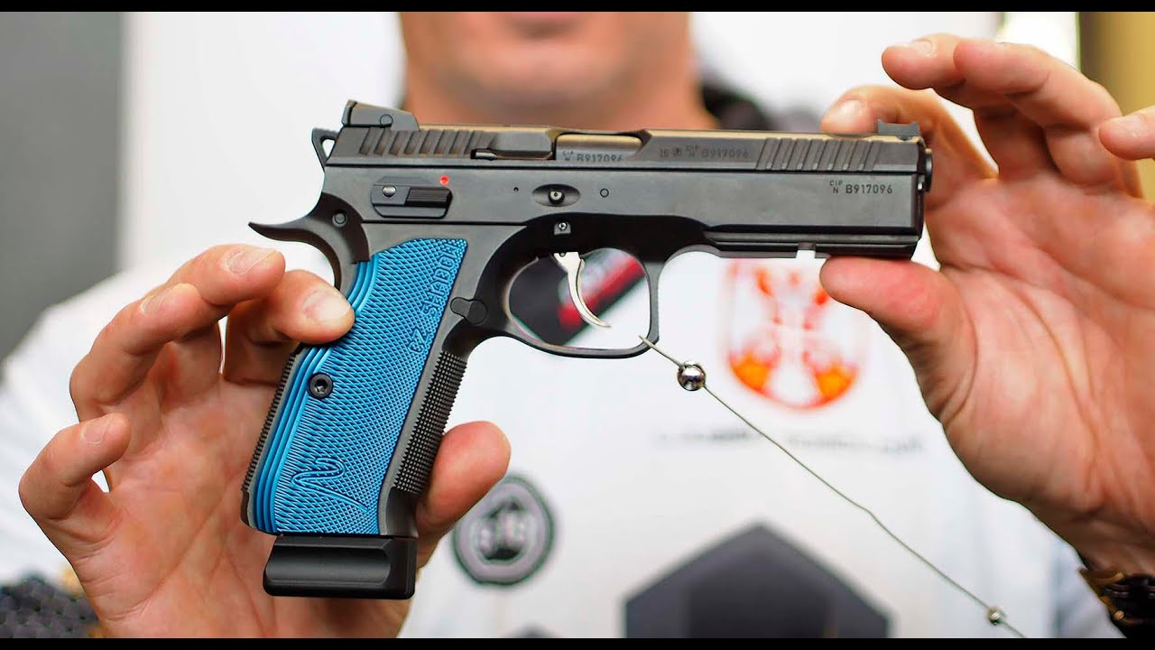 CZ Shadow 2 competition pistol - YouTube