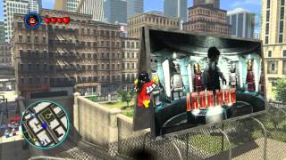 LEGO Marvel Super Heroes The Video Game - Spider-Woman free roam