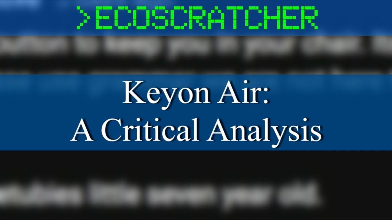 Script Keyon Air A Critical Analysis By Ecoscratcher Medium