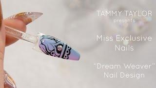 ❤ Tammy Taylor Dream Weaver Nail Art Design by Halley @Missexclusivenails