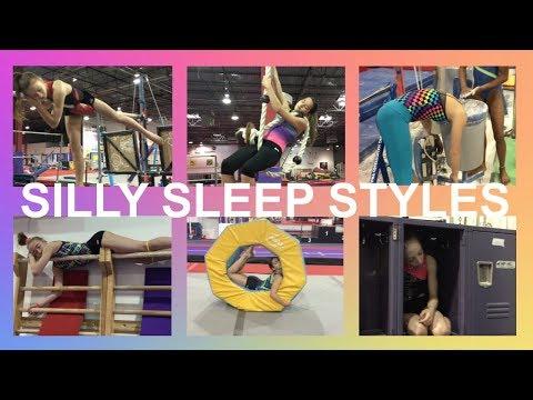 Sleep Challenge | Silly Sleep Styles | Gymscool