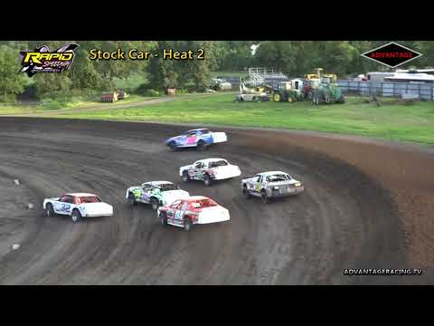 Stock Car Heats - Rapid Speedway - 7/6/18