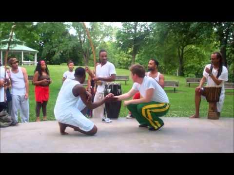 parade the circle 2014 , capoeira narahari cleveland! open roda