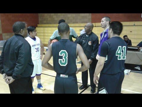 Port Of Los Angeles vs. Baxter High Boys Basketball (1-9-2017)