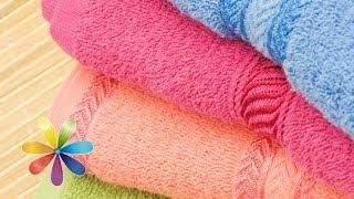 видео Выбираем банные полотенца