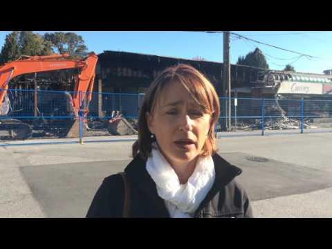Acting Mayor - Laura Dupont - McAllister Fire