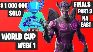 Fortnite World Cup WEEK 1 FINAL Part 3 Highlights - NA East Solo Day 2 [Fortnite Tournament 2019]