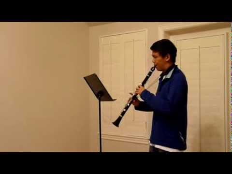 2014 Utah All State Audition - Clarinet