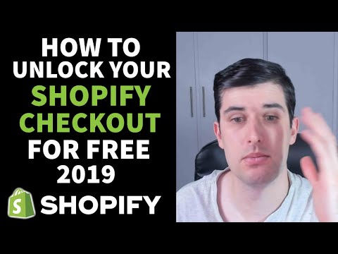 [LIVE] STEP-BY-STEP HOW TO UNLOCK YOUR SHOPIFY CHECKOUT FREE  IN 2019 | CONVERSION PIRATE HACK thumbnail