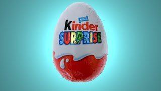 Киндер Сюрприз. Распаковка яйца Киндер Сюрприз. Kinder Surprise eggs
