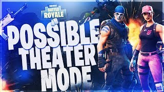Fortnite: Battle Royale POSSIBLE THEATER MODE!?! LEAKED FILES? AND V-BUCKS GIVEAWAY!