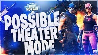 Fortnite: Battle Royale POSSIBLE THEATER MODE!?! DES FICHIERS DIVULGUÉS ? ET V-BUCKS GIVEAWAY!