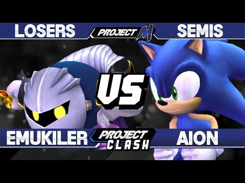 Project M - Emukiller (Meta Knight) vs Aion (Sonic) - PC 14 Losers