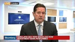 Barclays' CEO Looks Forward to Ending Restructuring