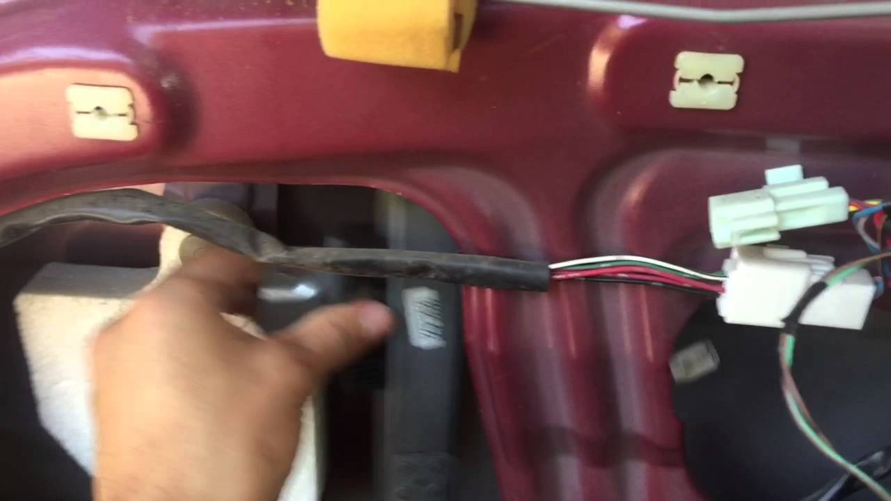 How To Remove Mazda Protege Window Regulator 99 03 Youtube Wiring