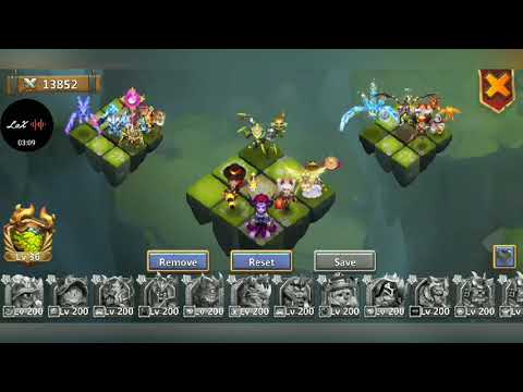 Explaining Lost Battlefield Teams And Going Over Setups Castle Clash