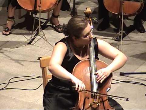 Karmen Pečar - A. Dvořák: Rondo, op. 94 (cello ensemble)
