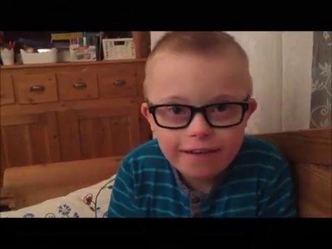 Max pratar på engelska