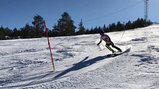 Påsksmällen I Sundsvall Damer Topp 5 Andra Åket 2018-03-30