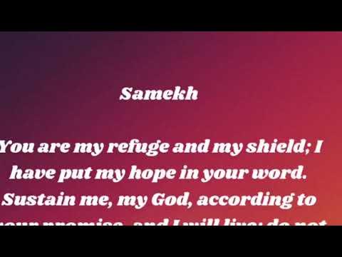 Living God||Psalms119:113-120|Samekh|God's Word