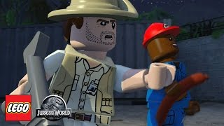 LEGO: Jurassic World - Prologue - Part 1 [Xbox One Gamepaly, Commentary]
