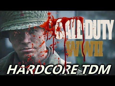 Call of Duty WW2 - Hardcore Team Deathmatch Type 100 Gameplay on Gibraltar (COD WW2 Multiplayer))