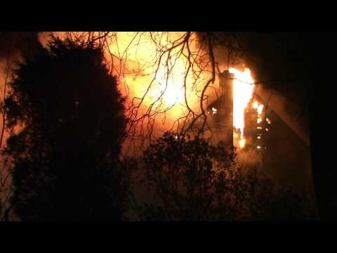Lehigh Township Fully Involved Fatal House Fire - 4.25.13