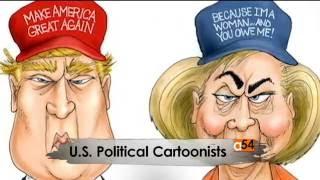 US Political Cartoonists Share Inspiration