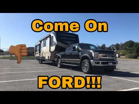 2019 Ford F250 Squat And 90 Degree Turn Test!!! 2020 Ford HD Updates