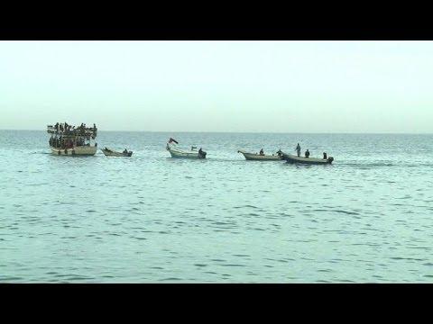 Gaza: pêcheurs et militants défient le blocus maritime