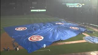 Cubs Tarp Delay