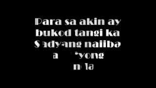 Repeat youtube video Bukod Tangi by Jason Hernandez (LYRICS)
