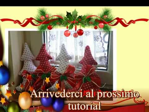 Tutorial natale cucito creativo albero di natale for Cucito creativo youtube