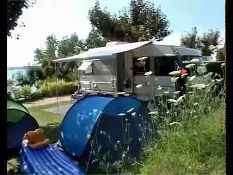 camping beau rivage au lac de pareloup en aveyron youtube. Black Bedroom Furniture Sets. Home Design Ideas